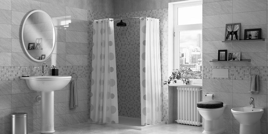 Rifare il bagno cambiando sanitari box doccia e mobile fai da te leroy merlin - Rifare il bagno da soli ...