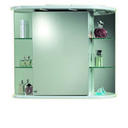 Specchio bagno con luce o senza luce prezzi e offerte online - Armadietti da bagno ...
