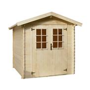Casette in legno e pvc prezzi e offerte casette da giardino for Bauhaus case in legno