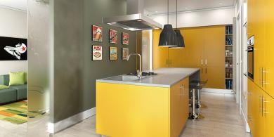 soluzioni per arredare una cucina che sia prarica e funzionale