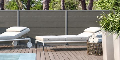 Latest divisori giardino with recinzioni da giardino for Ringhiere in legno leroy merlin