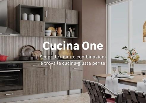 Cucina monoblocco cottura e lavaggio per piccoli spazi casafacile