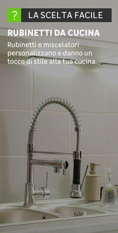Rubinetti cucina: prezzi e offerte miscelatori e rubinetti cucina