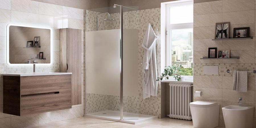 Rifare il bagno cambiando sanitari box doccia e mobile fai da te leroy merlin - Rifare il bagno idee ...