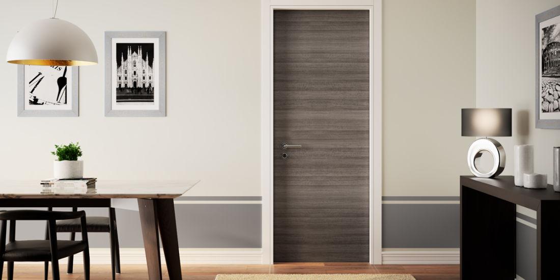Eccezionale Abbinamento delle porte interne ai colori delle pareti di casa fai  UP56