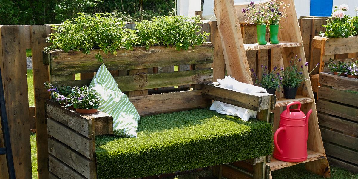Bancali di legno per arredare xm73 regardsdefemmes for Sdraio giardino leroy merlin