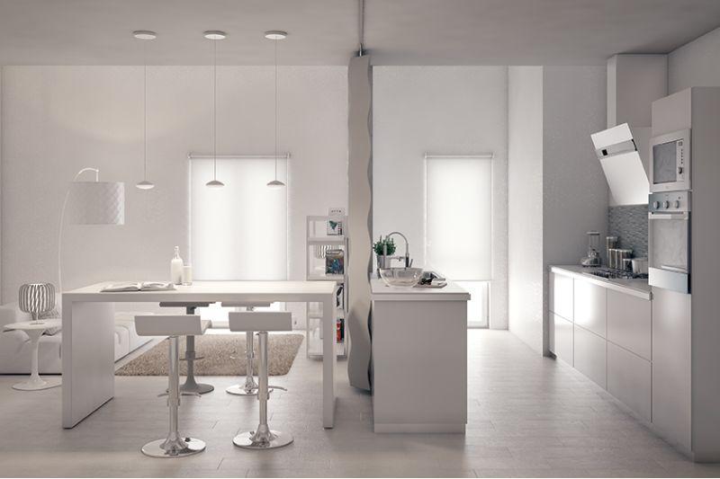 Popolare Come arredare un open space cucina-soggiorno fai da te | Leroy Merlin JV18