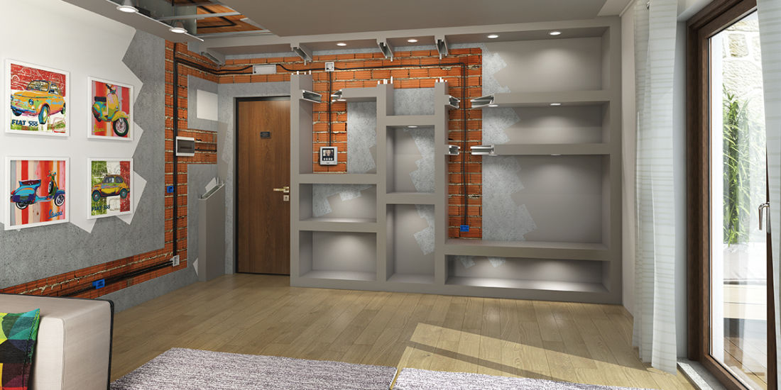 Idee sui punti luce per rinnovare il soggiorno fai da te   Leroy Merlin