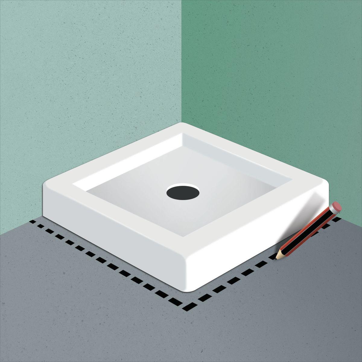 Come posare un piatto doccia guide e tutorial leroymerlin - Posare un piatto doccia ...