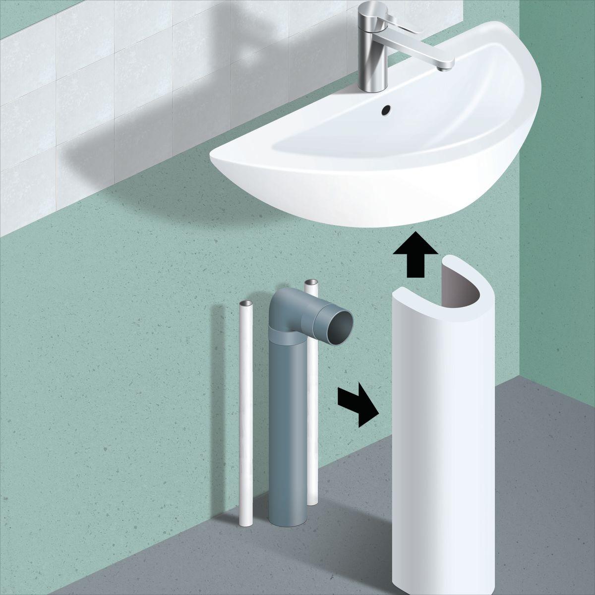 Mobili sotto lavandino bagno latest mobile lavello bagno for Lavandino leroy merlin