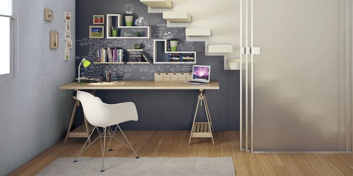 Creare Uno Spazio Write Zone Con La Pittura Lavagna