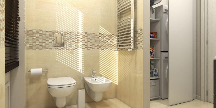 Idee bagno con lavanderia: come organizzare gli spazi fai da te ...