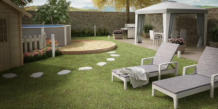 Cool with organizzare il giardino for Idee x realizzare un giardino
