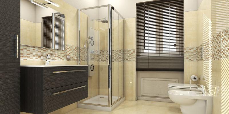 Idee per tende finestra bagno 23 idee per arredare un - Idee per ristrutturare bagno ...