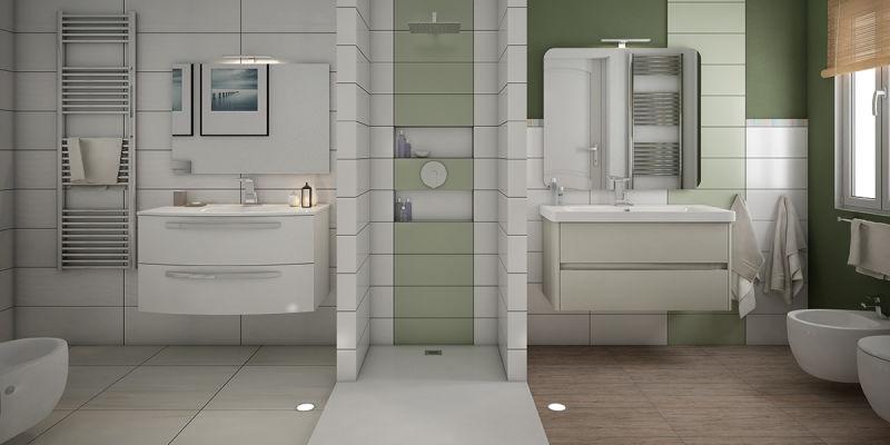 Rifare il bagno dividere lo spazio in due bagni fai da te leroy merlin - Rifare bagno da soli ...