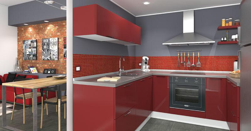 Idee per arredare una cucina piccola organizzarla per for Gambe tavolo legno leroy merlin