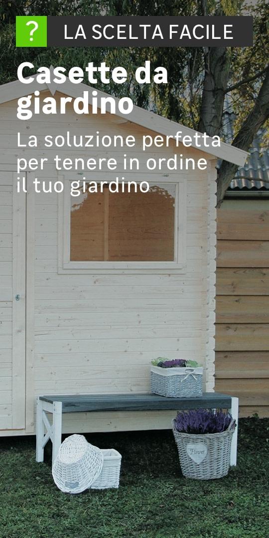 Casette in legno e pvc prezzi e offerte casette da giardino for Casetta giardino fai da te