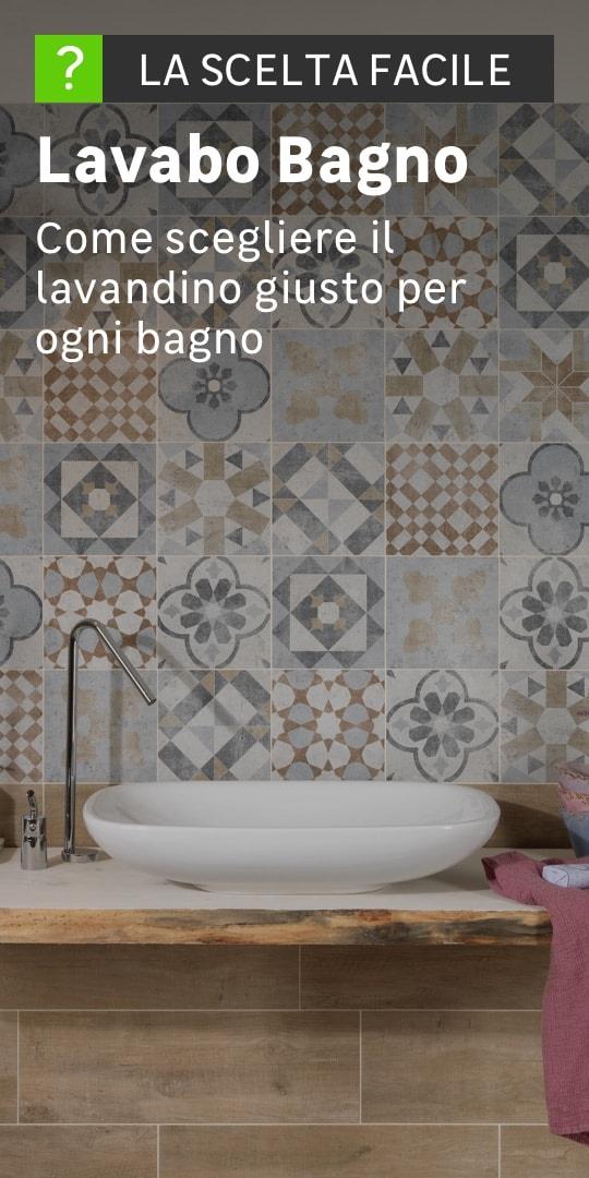 Lavabi e lavandini da appoggio prezzi e offerte online for Mobili bagno per lavabo da appoggio