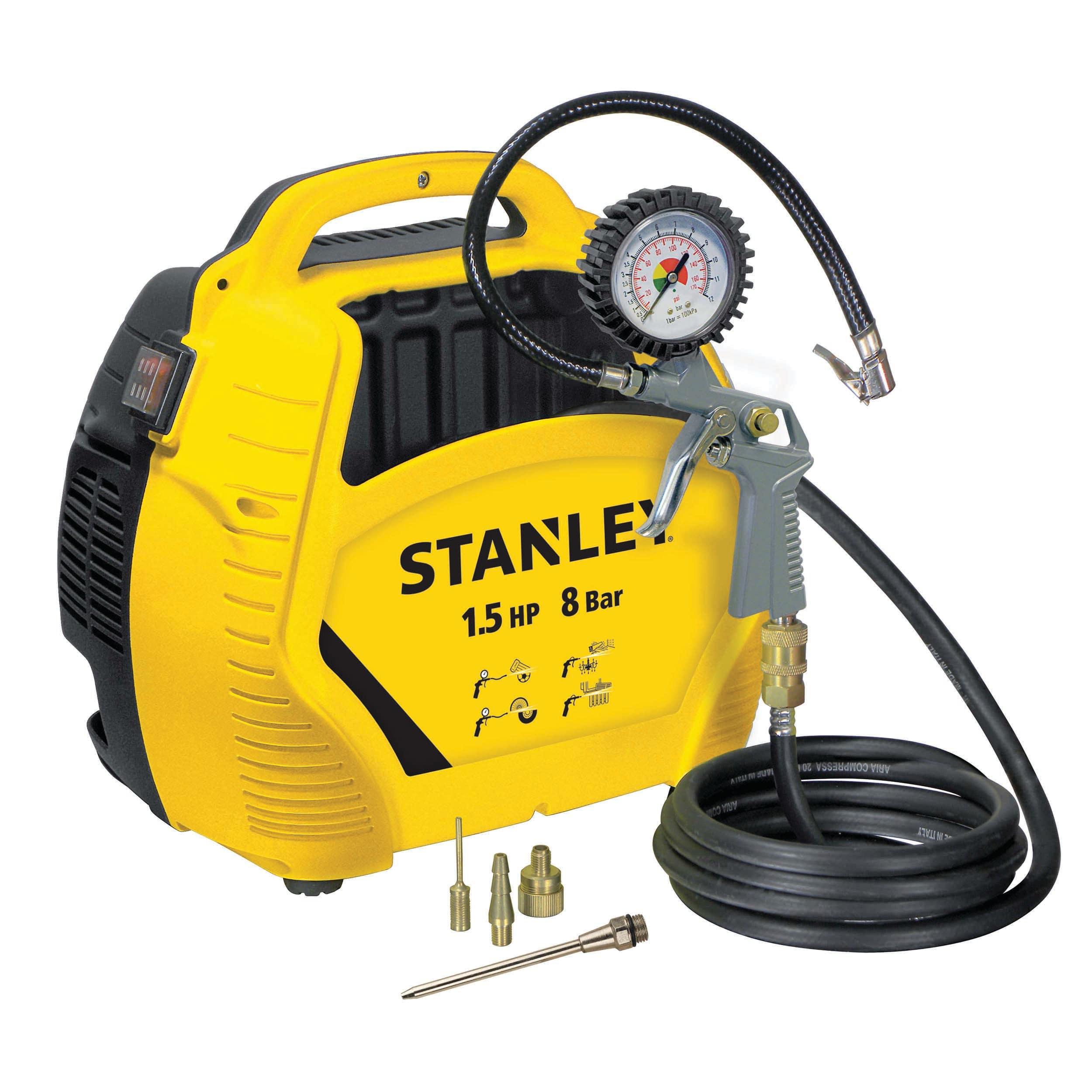 Compressore Senza Serbatoio Stanley Airkit 1 5 Hp Pressione