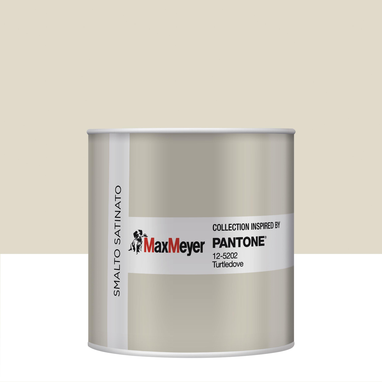 Smalto Pantone All Acqua 125202 Turtledove Satinato 0 5 L Prezzi E