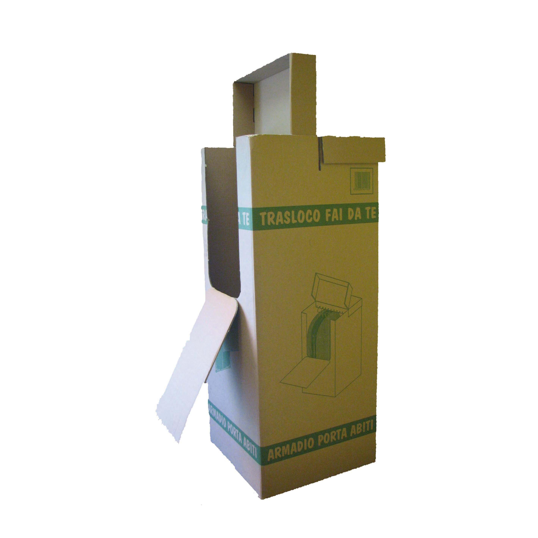 Scatola Trasloco Portabiti L 50 X H 120 X P 50 Cm Prezzi E Offerte