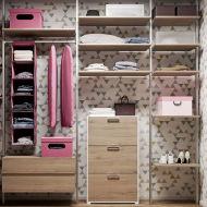 Come progettare la cabina armadio con un sistema componibile fai da ...
