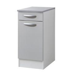 base per lavello spring 2 ante grigio l 80 x h 86 x p 60 cm ... - Leroy Merlin Mobili Cucina