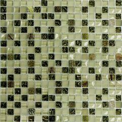 bagno mosaico mix selva luce 30 x 30 verde 34568163