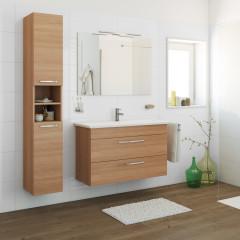 mobili bagno: prezzi e offerte mobiletti bagno sospesi o a terra - Mobile Lavabo Bagno A Terra
