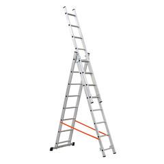 Scale in alluminio telescopiche allungabili pieghevoli for Scale alluminio leroy merlin