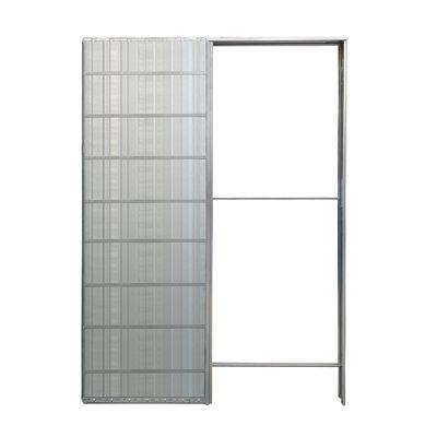 Controtelaio porta scorrevole muro 100 per cartongesso 60 x 200 cm ...