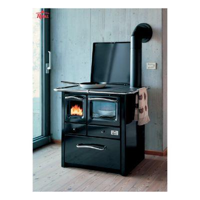 Cucina a legna Gaia 45 nero: prezzi e offerte online