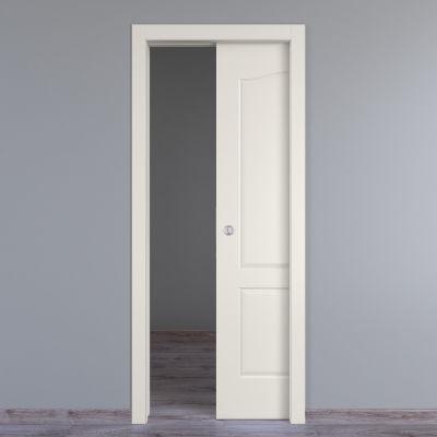 Porta da interno scorrevole Ipanema bianco 70 x H 210 cm reversibile ...