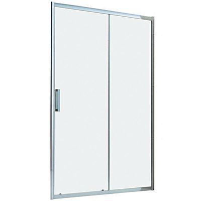 Porta doccia scorrevole Manhattan 146-150, H 200 cm cristallo 6 mm ...