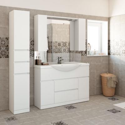 bagno mobile bagno elise bianco l 120 cm 35880502