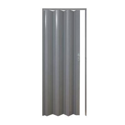 Porta a soffietto Vera grigio tessuto L 89.5 x H 214 cm: prezzi e ...