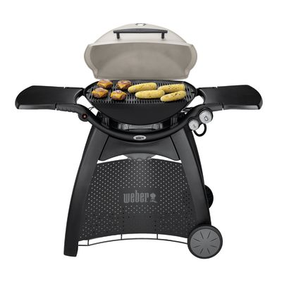 Barbecue a gas Weber Q3000 Titanium 2 bruciatori: prezzi e offerte ...