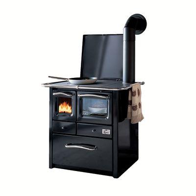 Cucina a legna gaia 45 nero prezzi e offerte online - Cucina economica a legna leroy merlin ...
