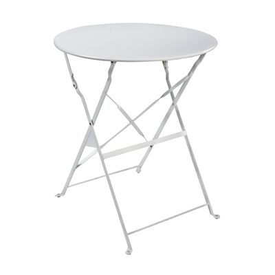 Tavolo pieghevole Color, Ø 60 cm bianco: prezzi e offerte online