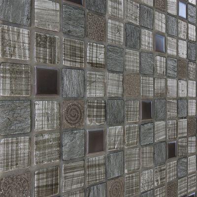 Mosaico Grey tex 30 x 30 cm grigio: prezzi e offerte online