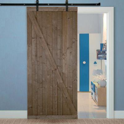 Porta da interno scorrevole Range noce 96 x H 270 cm reversibile ...