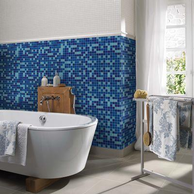Mosaico Classic 32,7 x 32,7 cm blu, azzurro: prezzi e offerte online