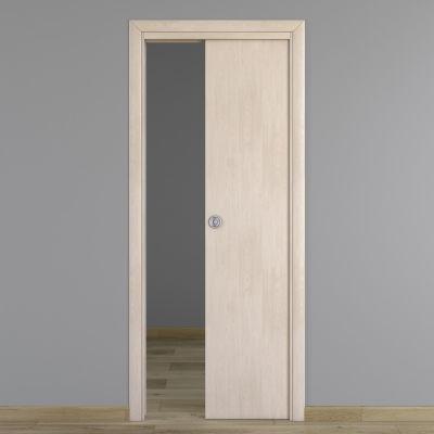 Porta da interno scorrevole notting hill pino sbiancato 70 - Porta scorrevole da interno ...