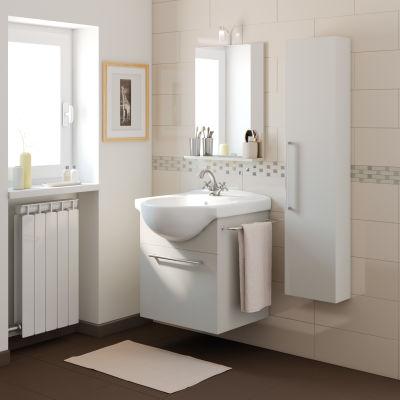 Mobile bagno Ginevra grigio L 58 cm: prezzi e offerte online