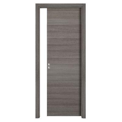 Porta da interno scorrevole One gray Cenere 80 x H 210 cm ...