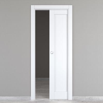 Porta da interno scorrevole Atria bianco 80 x H 210 cm reversibile ...