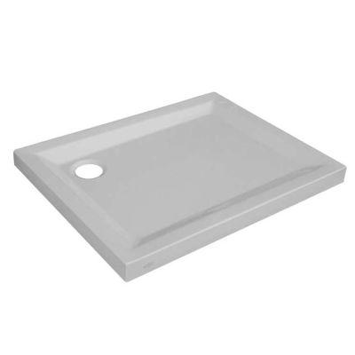 Piatto doccia acrilico Sensea Houston 70 x 100 cm bianco: prezzi e ...