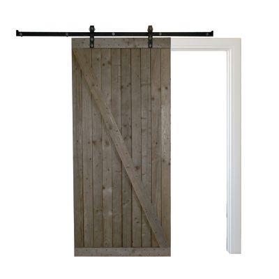 Porta da interno scorrevole Texas marrone 96 x H 270 cm reversibile ...