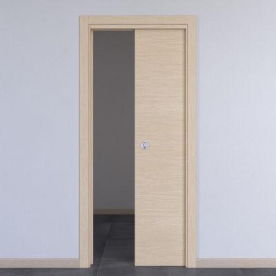 porta da interno scorrevole spring rovere chiaro 80 x h 210 cm