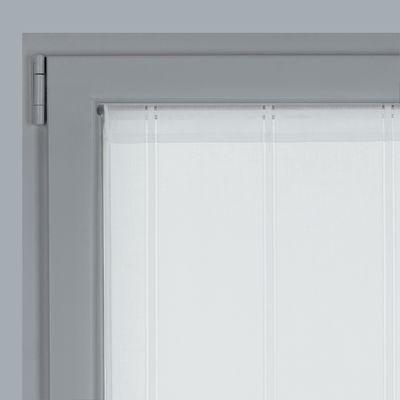 Tendina a vetro per porta finestra Picasso bianco 45 x 240 cm ...